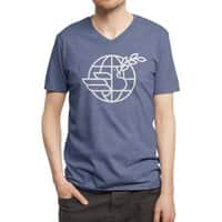 Peace in the World - vneck - small view