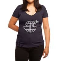 Peace in the World - womens-deep-v-neck - small view