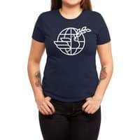 Peace in the World - womens-triblend-tee - small view