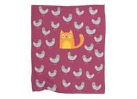 Cat Among The Pigeons - blanket - small view