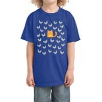 Cat Among The Pigeons - kids-tee - small view