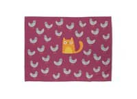 Cat Among The Pigeons - rug-landscape - small view