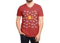 Cat Among The Pigeons - vneck - small view