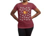 Cat Among The Pigeons - womens-regular-tee - small view