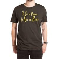 To Err Is Human, to Arr Is Pirate - mens-extra-soft-tee - small view