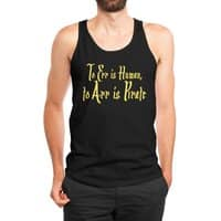 To Err Is Human, to Arr Is Pirate - mens-jersey-tank - small view