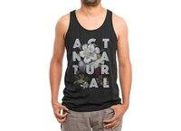 Act Natural - mens-triblend-tank - small view
