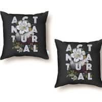 Act Natural - throw-pillow - small view