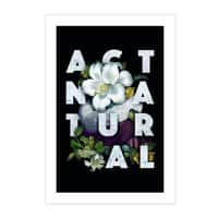 Act Natural - vertical-print - small view