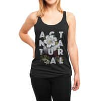 Act Natural - womens-triblend-racerback-tank - small view