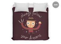 Always Follow Your Dreams - duvet-cover - small view