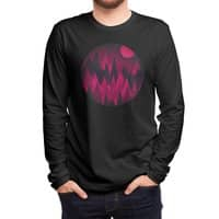 Dark Mystery Peak Wood's - mens-long-sleeve-tee - small view