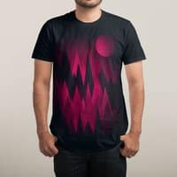 Dark Mystery Peak Wood's - mens-sublimated-tee - small view