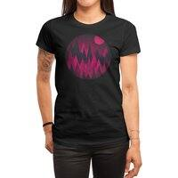 Dark Mystery Peak Wood's - womens-regular-tee - small view