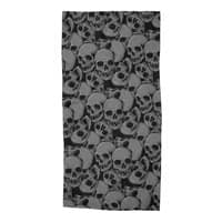 A Lot of Skulls - beach-towel - small view