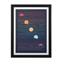 Many Lands Under One Sun - black-vertical-framed-print - small view