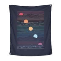 Many Lands Under One Sun - indoor-wall-tapestry-vertical - small view