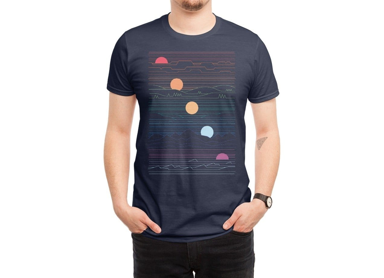 Many lands under one sun by rick crane mens tee threadless for Create t shirt store online