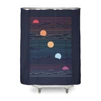 Many Lands Under One Sun - shower-curtain - small view