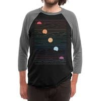 Many Lands Under One Sun - triblend-34-sleeve-raglan-tee - small view
