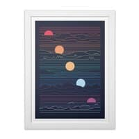 Many Lands Under One Sun - white-vertical-framed-print - small view