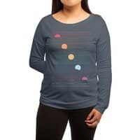 Many Lands Under One Sun - womens-long-sleeve-terry-scoop - small view