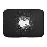 Full Moon - bath-mat - small view