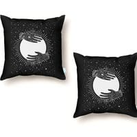 Full Moon - throw-pillow - small view