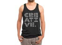 Creative. - mens-triblend-tank - small view