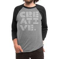 Creative. - triblend-34-sleeve-raglan-tee - small view