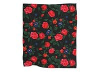 Dark Roses - blanket - small view