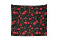 Dark Roses - indoor-wall-tapestry - small view
