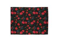 Dark Roses - rug-landscape - small view