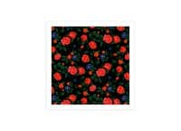 Dark Roses - square-print - small view