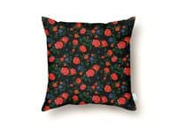 Dark Roses - throw-pillow - small view
