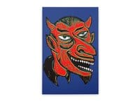 Devil Head - vertical-stretched-canvas - small view