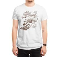 go went gone  - mens-regular-tee - small view