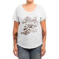 go went gone  - womens-dolman - small view