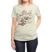 go went gone  - womens-regular-tee - small view