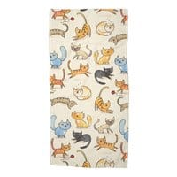Cats Cats Cats - beach-towel - small view