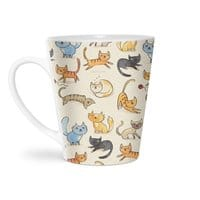 Cats Cats Cats - latte-mug - small view