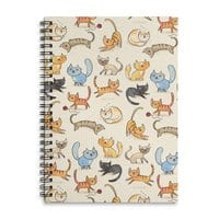 Cats Cats Cats - spiral-notebook - small view