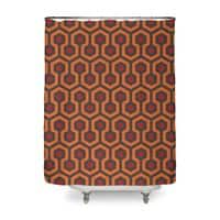 The Shining Overlook Hotel - shower-curtain - small view