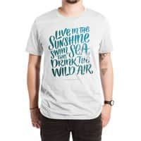 Swim the Sea - mens-extra-soft-tee - small view