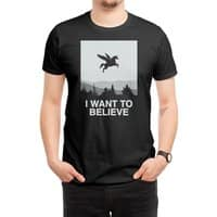 I want to believe - mens-regular-tee - small view