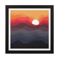Outono - black-square-framed-print - small view