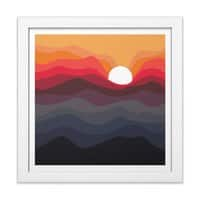 Outono - white-square-framed-print - small view