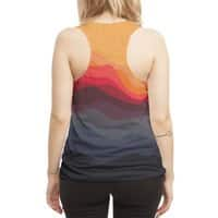 Outono - womens-sublimated-racerback-tank - small view