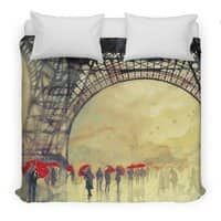 Winter in Paris - duvet-cover - small view