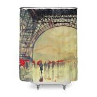 Winter in Paris - shower-curtain - small view